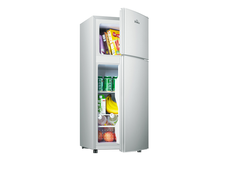 Doule door mini refrigerator
