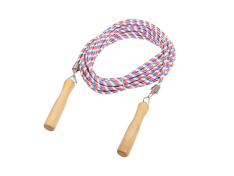 wooden handle jump rope